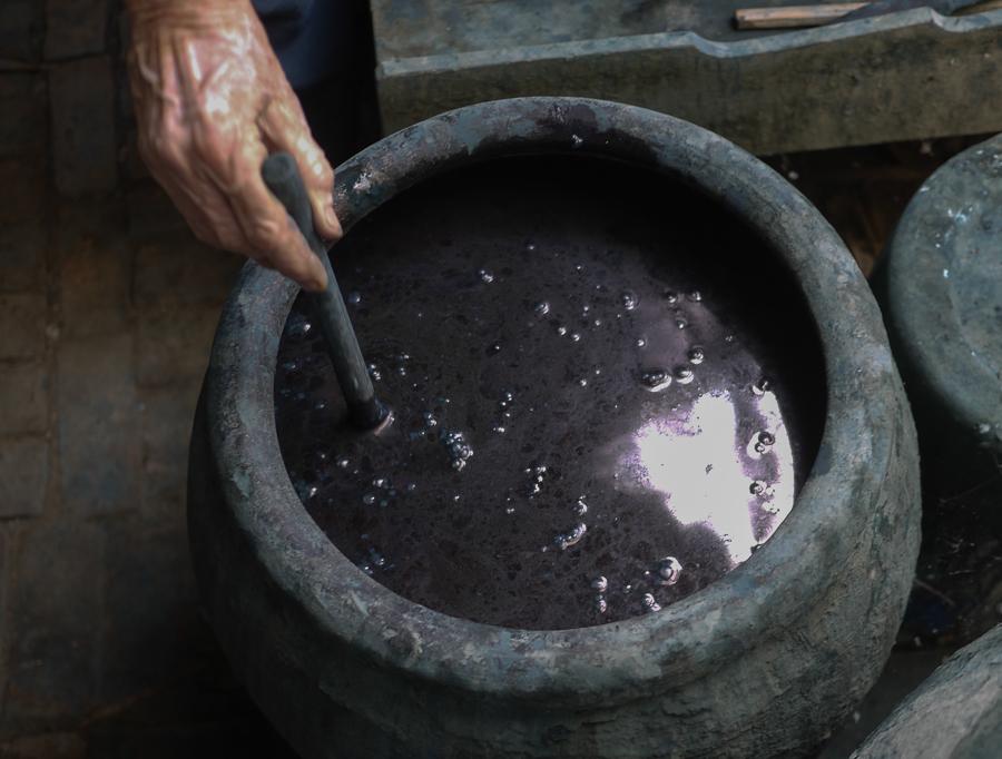 indigo Preparing the vat