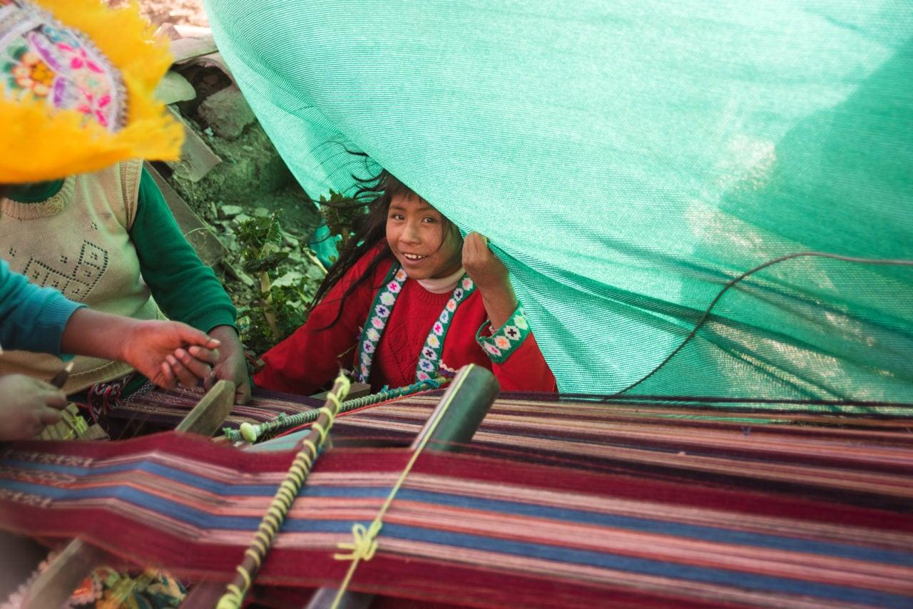 Santa Cruz de Sallac - Centro de Textiles Tradicionales Del Cusco, Peru (CTTC)